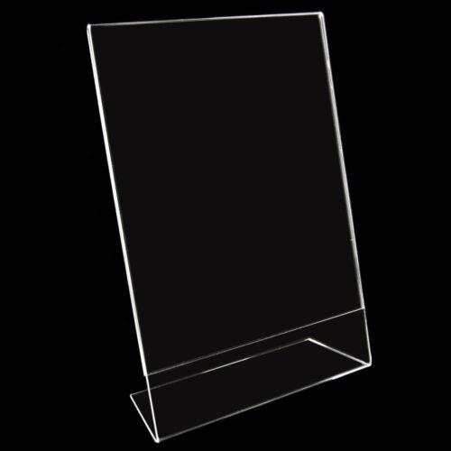 L-Ständer Ständer 754 DIN A3 Hochformat Neu Fotohalter Preisschild Acryl
