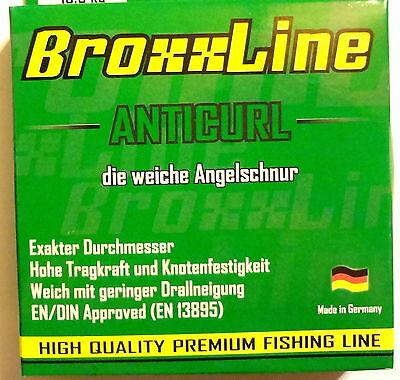 Made in Germany 50m//1,00mm//55kg Anticurl Meeresschnur