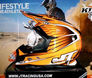 jt racing als cross ktm exc sx f neu enduro quad helm m. Black Bedroom Furniture Sets. Home Design Ideas