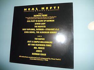 Soundtrack Neal Hefti Batman Theme Lp 1966 Re 1989 Rca
