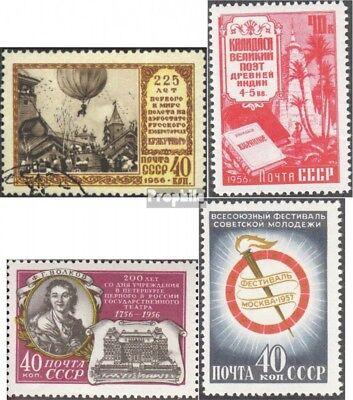 Modestil Sowjet-union 1901,1905,1906,1918 (komplette Ausgaben) Gestempelt 1956/57 Sonderm