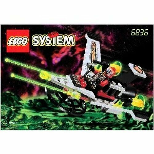 LEGO SYSTEM V-Wing Fighter, 6836, 39 Pc, Space, UFO