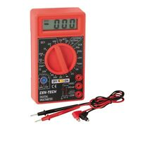 Brand Ac Dc Multimeter Digital Voltmeter With 9v Battery Included