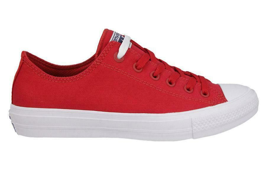 Converse Unisex Ct II Ox Salsa red Tela shoes Sportive Casual 150151C  37