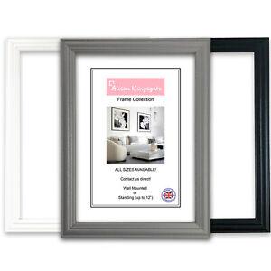 A1 A2 A3 A4 A5 Photo Frame Poster Picture Frame GREY BLACK WHITE Modern Decor