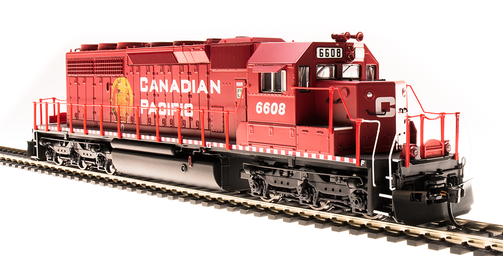 BROADWAY LIMITED 5364 HO SD40-2 Canadian Pacific 6604 oroen Beaver Paragon3