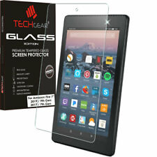 7e6ae7959c60c1 TEMPERED GLASS Screen Protector For Amazon Fire 7 9th Gen 2019 & 7th Gen  2017