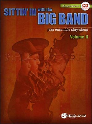 Frugal Sittin' In With The Big Band 2 Alto Sax Jazz Play-along Music Book/cd Instruction Books, Cds & Video Musical Instruments & Gear