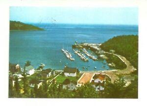 MARINA-TADOUSSAC-QUEBEC-CANADA-CHROME-POSTCARD