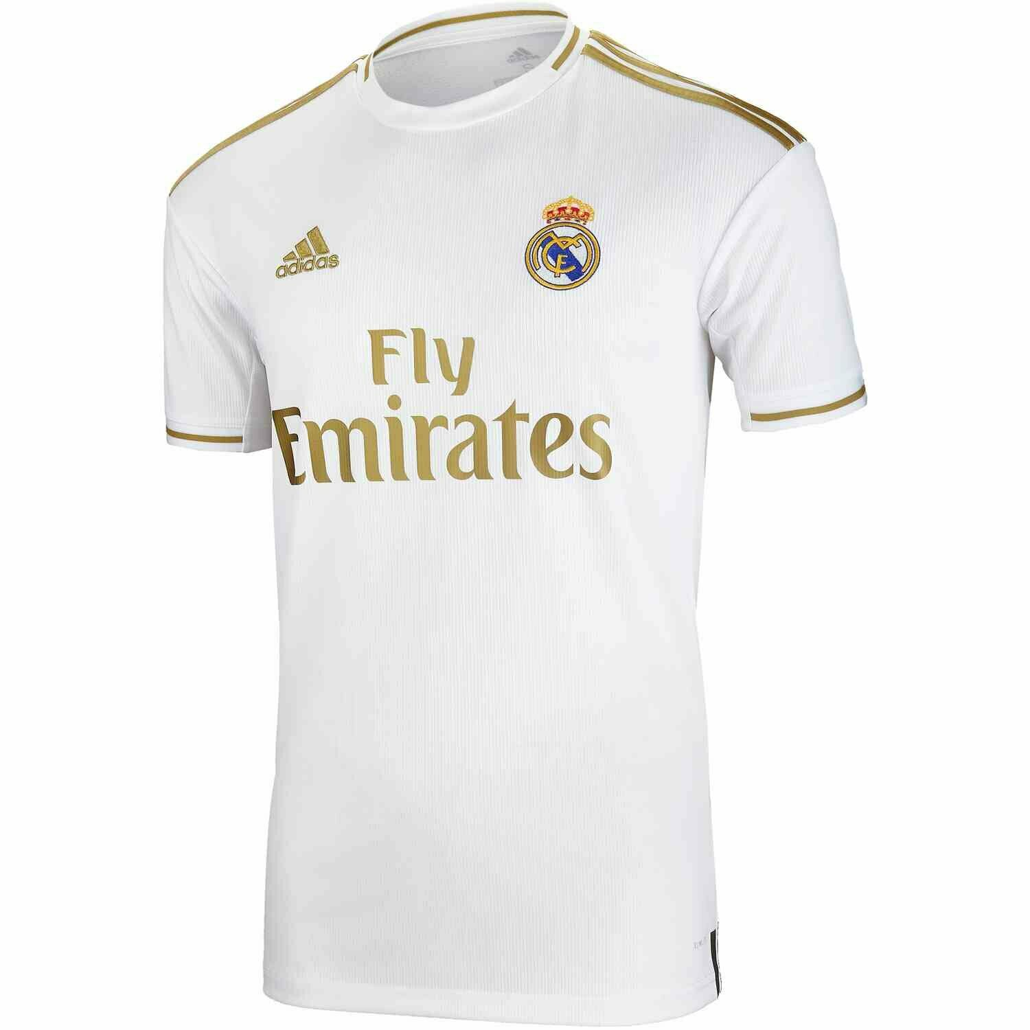 HOME MADRID REAL Adidas uomo SOCCER 201920 JERSEY