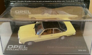 DIE-CAST-034-OPEL-COMMODORE-B-GS-E-1972-1977-034-OPEL-COLLECTION-SCALA-1-43