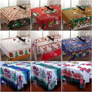 Merry-Christmas-Tablecloth-Stripe-Branch-Table-Cloth-Party-Wedding-Event-Xmas