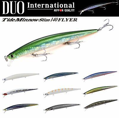 DUO Saltwater Jerkbait Lure Tide Minnow Slim FLYER 120