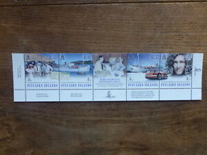 PITCAIRN-Is-2014-BYRD-EXPEDITION-ANTARCTIC-STRIP-5-MINT-STAMPS