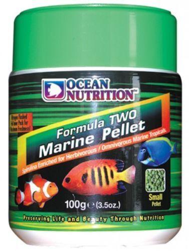 Comida para peces marinos. Ocean nutrition Formula two marine pellets.granulos.
