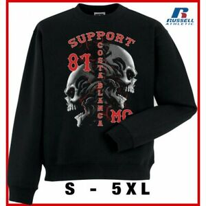 49 Hells Angels Timisoara Support81 Black Sweater