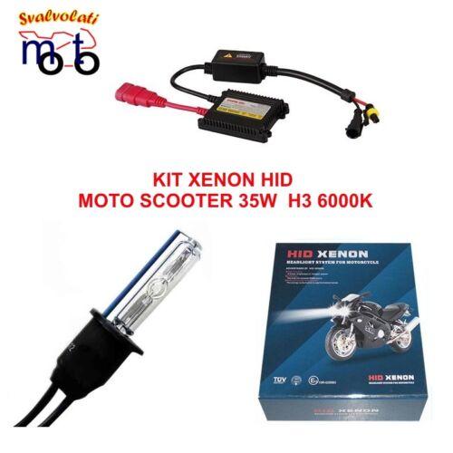 KIT XENON H1 H3 H4 H7 H4-3 6000K FARI XENO DIGITALE HID