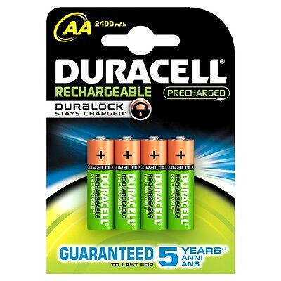 16x New Duracell Aa Rechargeable Batteries 2400mah Lr6 1.2v Nimh Dc1500 Mn1500+ Auswahlmaterialien