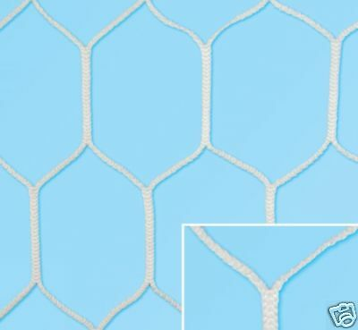 Paar NETZWERKE FUßBALL vorschriften HEXAGONAL mm. 3,5 größe 750x250 750x250 750x250 809caf