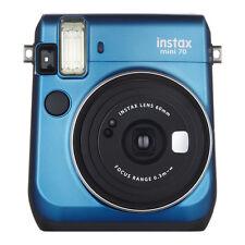 Blue Colour FujiFilm Fuji Instax Mini 70 Instant Photos Films Polaroid Camera