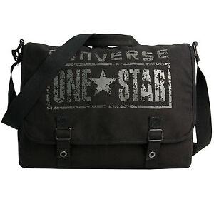 Das Bild wird geladen CONVERSE-Umhaengetasche-Schultertasche -Uberschlagtasche-Tasche-ONE-STAR-Messenger 40f46dc38d2aa