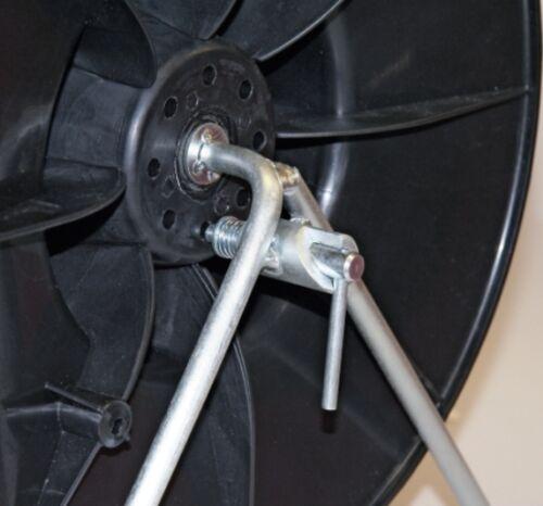 Kunststoffhaspel Super Haspel para 1000 m galon 600 m de cinta 44270 weidehaspel