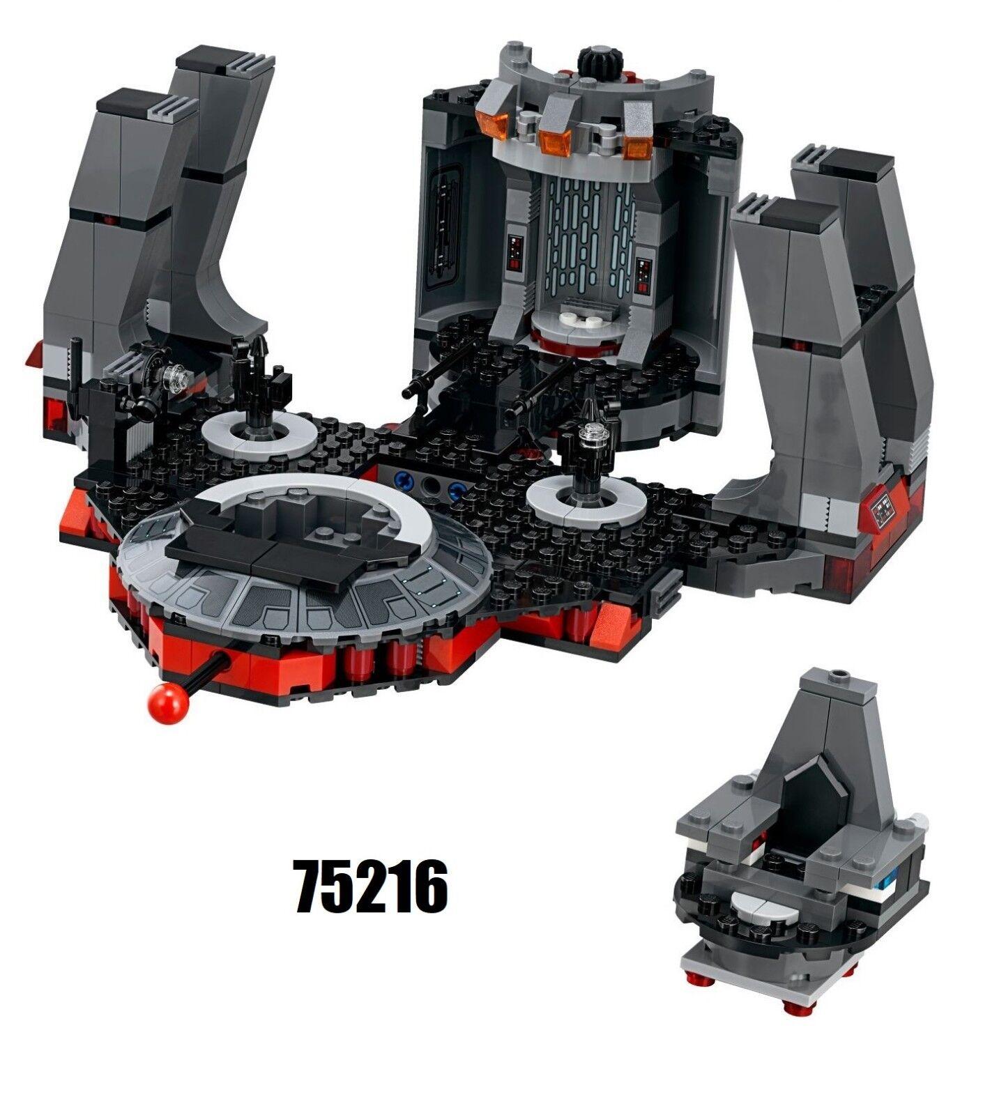 NEW  Lego Star Wars 75216 Snoke's Throne Room  NO MINIFIGURES
