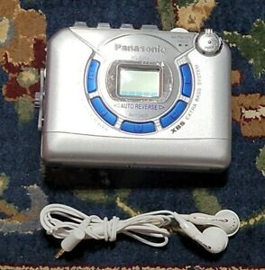 PANASONIC Cassette Tape Audio Player Digital Radio AM/FM RQ-E25V XBS Walkman