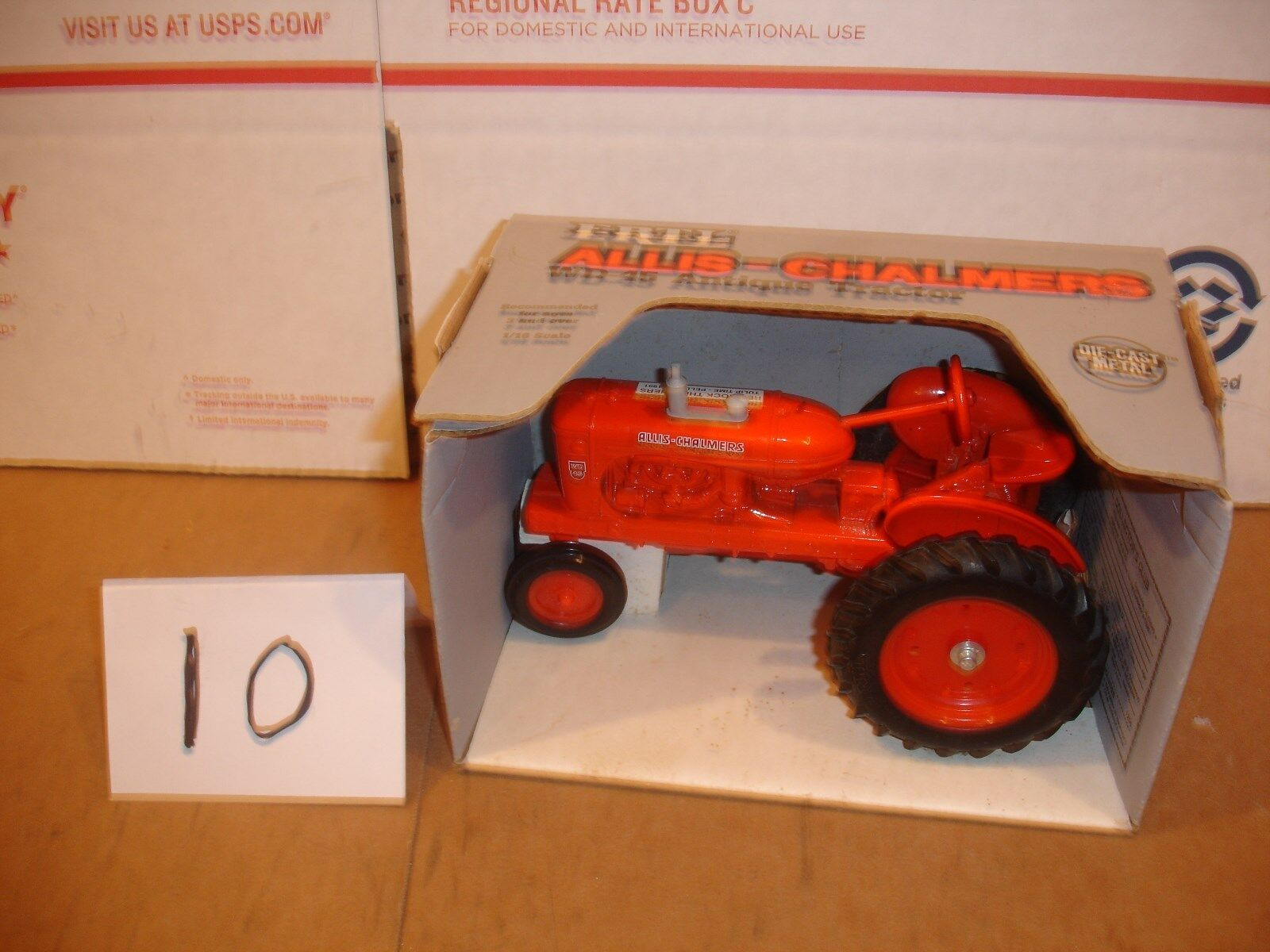 1 16 allis chalmers wd 45 tulip time iowa  toy tractor