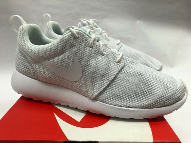Nike Roshe Run One Mens Shoes 14 White 511881 112