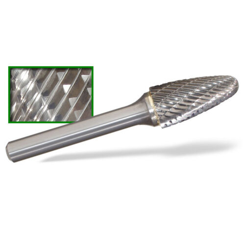 SF-3D Tree Shape End Tungsten Carbide Burr Double Cut