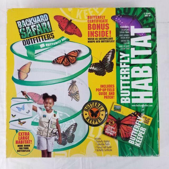 Backyard Safari Outfitters Butterfly Habitat Extra Large ...