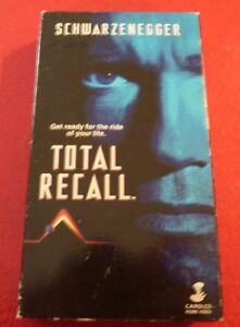 VHS-Movie-Total-Recall-Arnold-Schwarzenegger-The-Ride-of-Your-Life