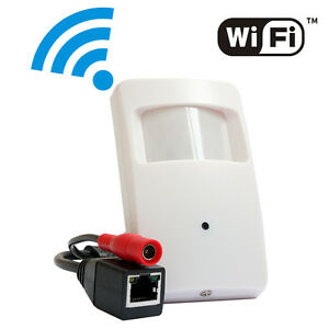 Mini Hidden Pinhole WIFI Wireless IP Camera CCTV HD 720P P2P