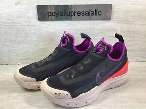 Men's Nike ACG Zoom Air AO Hiking Shoes Black/Laser Crimson CT2898-001 Size 8