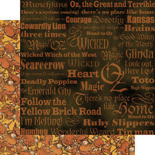 """Graphic 45: The Magic Of Oz Collection 12""""x12"""" Paper: Munchkins"""