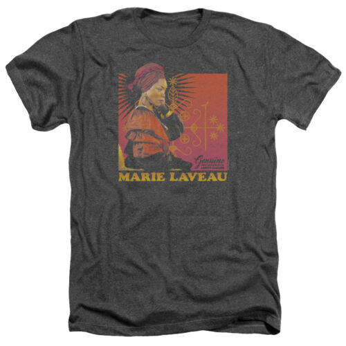American Horror Story Marie Laveau GENUINE LUCKY CHARM Heather T-Shirt All Sizes