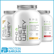 PhD Nutrition Diet Whey 2kg Weight Meal Replacement Loss Lean ALL FLAVOURS