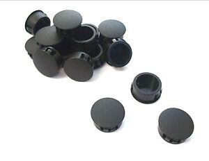 *Top Quality! Round end 12.7mm Caps Pack of 10 Domed blanking grommets