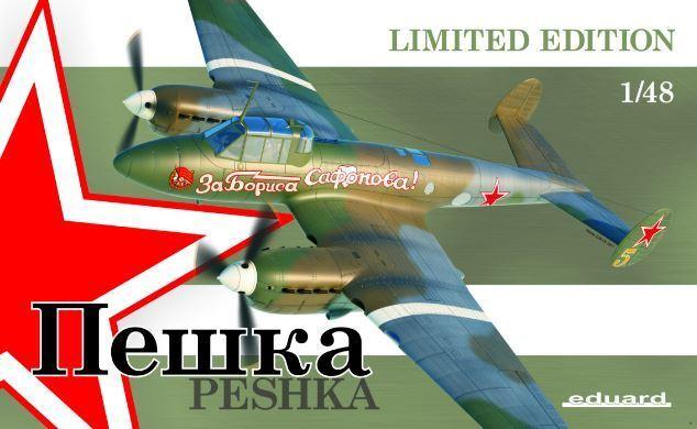 Eduard 1 48 Petlyakov Pe-2 'Peshka' Limited Edition K11112