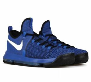 uk availability 12fd0 f56ec Image is loading NIKE-ZOOM-KD-9-GAME-ROYAL-WHITE-BLACK-