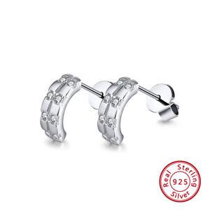 Creolen-Ohrringe-Damen-Maedchen-Kristalle-925-Silber-Kinderohrringe-Ohrstecker