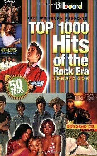 Billboard's Top 1000 Hits of the Rock Era: 1955-2... by Whitburn, Joel Paperback