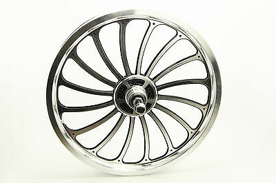 Aluminum Bicycle Front or Rear Wheel 20 X 1.75//2.125//2.5/'/' eBike Chopper Sale
