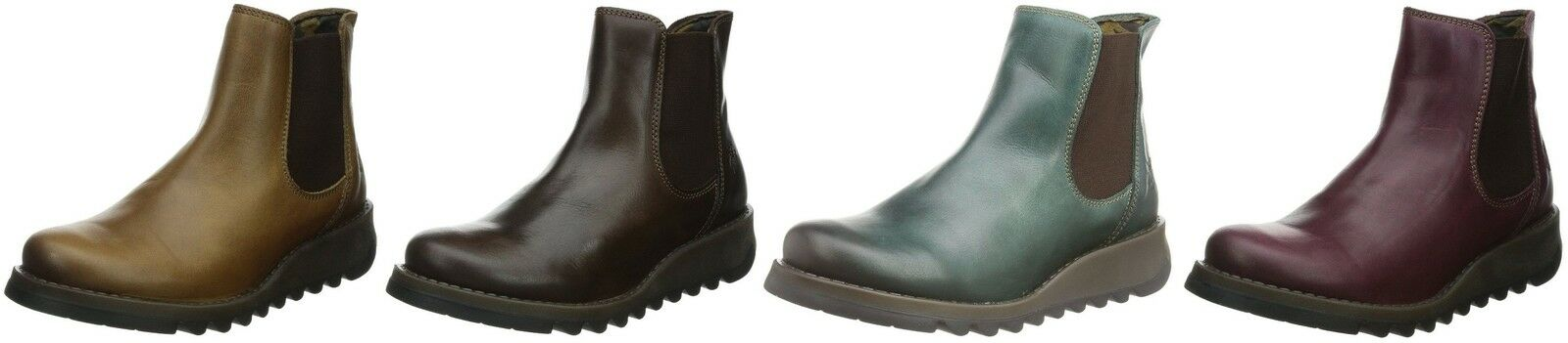 Fly london Salv Leather Womens Ankle Boots