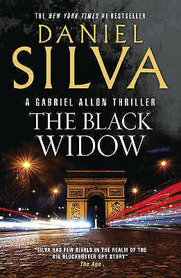 1 of 1 - The Black Widow by Daniel Silva - Hard Cover