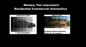 """2 Ply Window Tint Black Residential Commercial Automotive 36/"""" Inches Wide"""