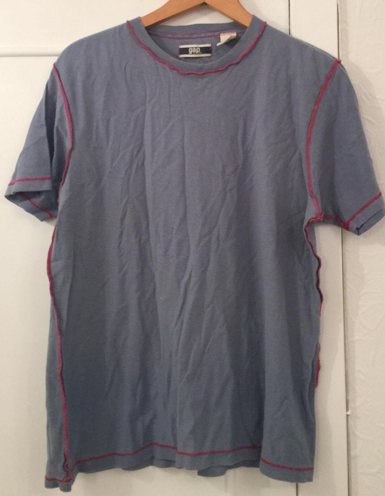 Shirt T M Taille Homme Bleu Gap qzSwZZE7