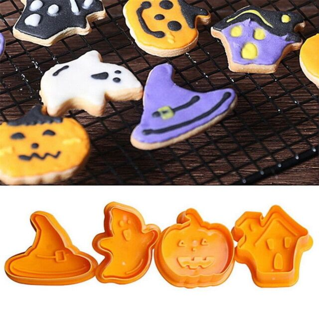 Great for Holloween Plastic Pumpkin Face Cookie Cutter