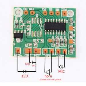 DIY-Intelligent-Voice-Change-Ic-Integrated-Circuit-Board-Voice-Change-Module